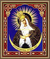 Образ Богородиця Остробрамська 200х240мм №216 в багетній рамці