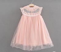 Красивое нежное платье для девочки на рост от 86 до 128