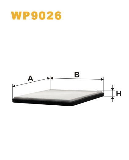 Фильтр салонный WIX WP9026