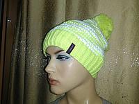 Denver New TM Loman, молодежная женская шапочка с бубоном  на флисе, фото 1