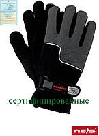 Зимние рабочие перчатки защитные, утепленные, изготовленные из флиса RPOLTRIP BS