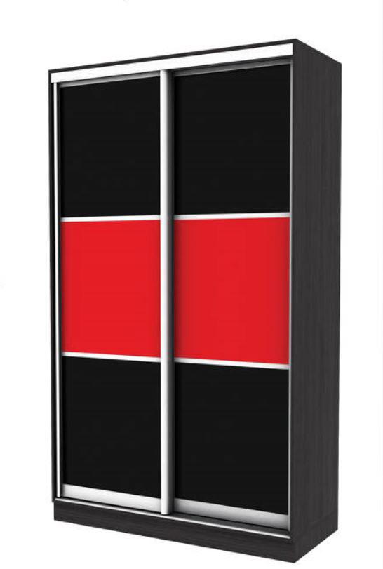 Шкаф-купе 2-х дверный Эко-1 1500х450х2400 мм (оракл 2 цвета)