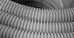 Труба гофрированная light, диаметр 20 мм, ДКС