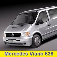 Автозапчасти Mercedes Viano 638 (1996-2003)