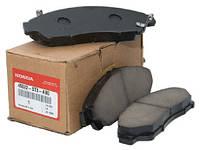Тормозные колодки передние для Acura MDX (оригинал) 45022-STX-A01