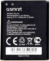 Аккумулятор для Gigabyte Gsmart Aku A1 3.7V 2000 mAh
