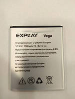 Аккумулятор для Explay Vega 3.7V 2000 mAh
