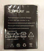 Аккумулятор для Explay X5 3.7V 1800 mAh
