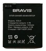 Аккумулятор оригинал Bravis Solo 3.7V 1400 mAh