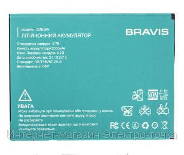 Батарея bravis omega 3.7V 2000 mAh оригинал