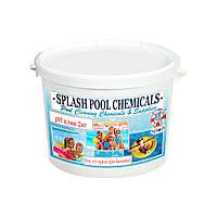Порошок рН плюс 2 кг. Средство для повышения уровня рН воды в бассейне. Химия для бассейна Splash