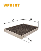 Фильтр салонный WIX WP9167