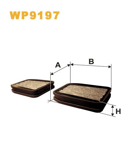 Фильтр салонный WIX WP9197