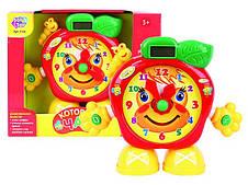 Розвивающая игрушка Часики Который час? Звук, свет (7158)