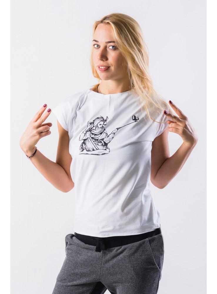 Ганга (ganga) женская футболка