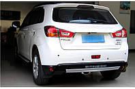Накладки на бампера Mitsubishi ASX 2013+