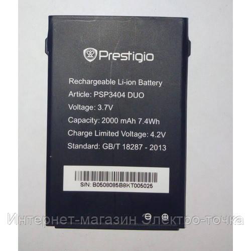 Аккумулятор на Prestigio PAP 3404 - 2000 mAh
