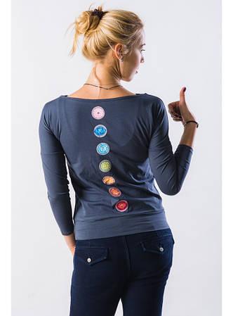 Сплит - женская футболка с длинным рукавом