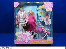 Набор кукол Семья по типу Барби Кен с аксессуарами (33009)