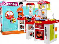 Детская игровая интерактивная кухня с холодильником и водой+аксессуары 889-64 В НАЛИЧИИ