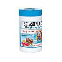 Комбинированный хлор 3в1 1кг в таблетках по 200г для бассейна. Многофункциональные таблетки хлора. Мультитаб