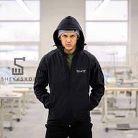 Демисезонная мужская куртка F&F Prado, черная, фото 1
