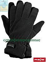Защитные перчатки изготовленные из полара, утепленные вкладкой Thinsulate RTHINSULPOL B