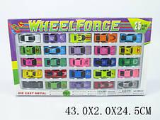 Набор машинок металлических Wheel Force 25 шт. (MB-25)