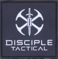 Патч ПХВ на липучке Disciple Tactical