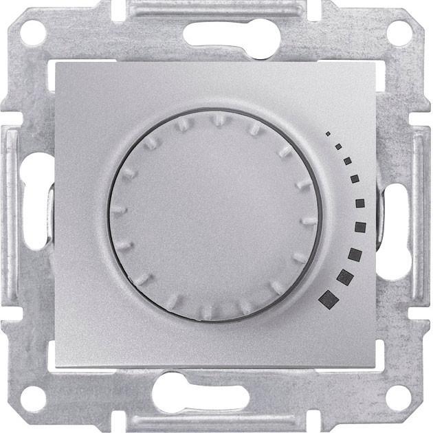 Диммер емкостной поворотно 230 В, 25-325 Вт/ВА Sedna алюминий