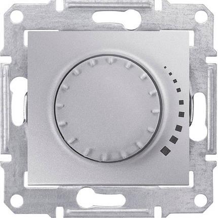 Диммер емкостной поворотно 230 В, 25-325 Вт/ВА Sedna алюминий, фото 2