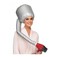 Шапка для сушки волос феном, термо-колпак, сушуар