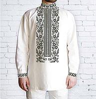 Заготовка чоловічої сорочки та вишиванки для вишивки чи вишивання бісером  Бисерок «Сокальська» (Ч e634d389a8b60