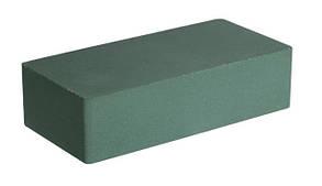 Облицовочный гиперпрессованный кирпич LAND BRICK зеленый с гладкой фактурой