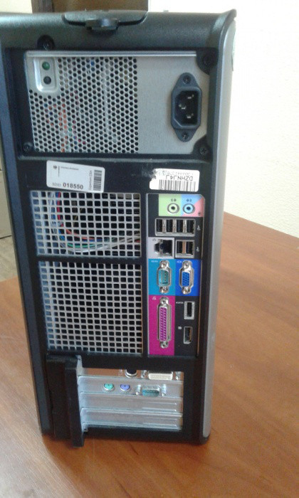 Системный блок Dell Optiplex 780 проц E5300 ,RAM 2ГБ ддр3 диск 160ГБ