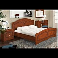 """Ніколь"" Ліжко з ДСП/МДФ в спальню 160 (яблуня) Сокме"