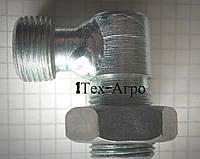 Угольник S17-S17 (к/гайка М14х1.5-М14х1.5)