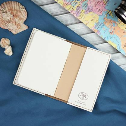 """Обложка для паспорта """"Морское дно"""" + блокнотик, фото 3"""