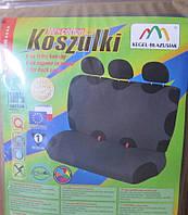 Майка сидения задняя темно-серая х/б Kegel (Koszulki)
