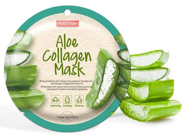 PUREDERM Circle Mask Aloe 18 g