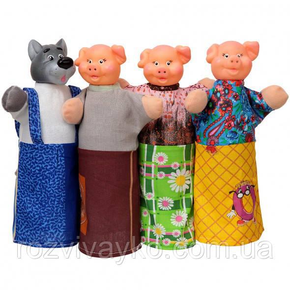 Кукольный театр Три поросенка