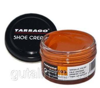 Крем для гладкой кожи Tarrago Shoe Cream 50 мл цвет темно оранжевый (103)