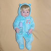 Кукла реборн 57 см полностью виниловый мальчик Артём