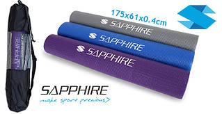 Коврик для йоги и фитнеса Sapphire EVA SG-102 4 мм