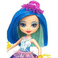 Набор Друзья из подводного мира Enchantimals кукла Медуза Джесса - Меняет цвет волос FKV57, фото 4