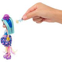 Набор Друзья из подводного мира Enchantimals кукла Медуза Джесса - Меняет цвет волос FKV57, фото 8