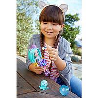 Набор Друзья из подводного мира Enchantimals кукла Медуза Джесса - Меняет цвет волос FKV57, фото 9