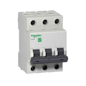 Автоматичний вимикач EZ9 3Р, 6А Schneider Electric