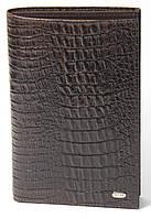 Дорожное портмоне Petek 574, Коричневый, 1, 5+, Вертикальное, Рептилия, Нет, Нет, Матовая