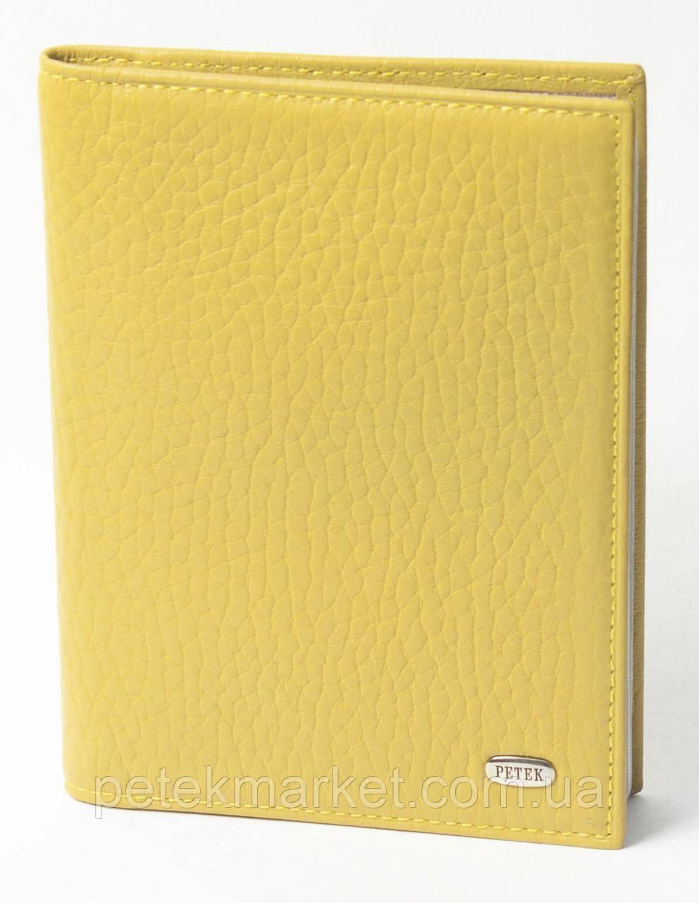 Обложка для прав PETEK 584 Жёлтый (584-46BD-14)